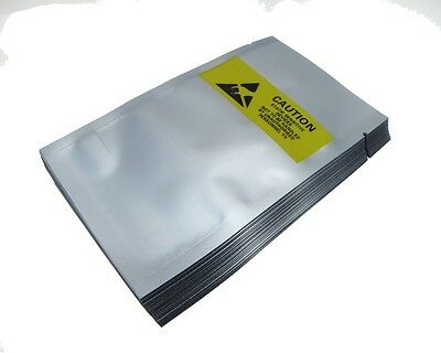 Static Shielding Anti-Static Bags Open End 8x13CM - Pack of 50