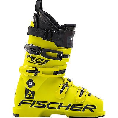 Fischer Herren U06315 Skischuh RC4 130 Thermoshape yellow