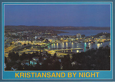Post Card - Kristansand by Night