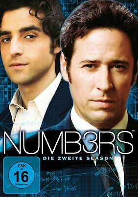 Numb3rs - Die komplette Staffel/Season 2 (Numbers) # 6-DVD-BOX-NEU