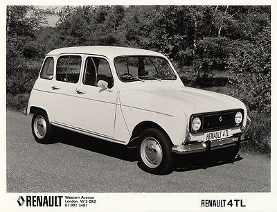 Renault 4Tl Period Photograph.