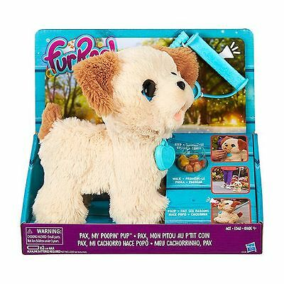 New Hasbro Furreal Friends Pax My Poopin' Pup Walking Pooping Puppy Dog C2178