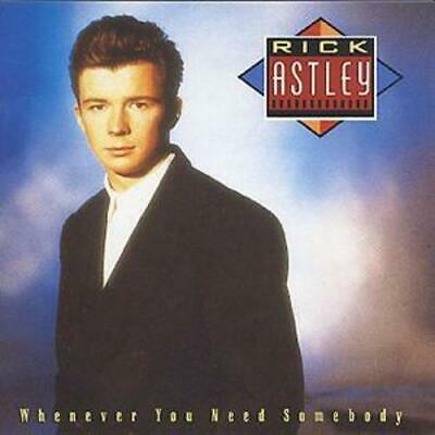 Rick Astley : Whenever You Need Somebody CD (1992)