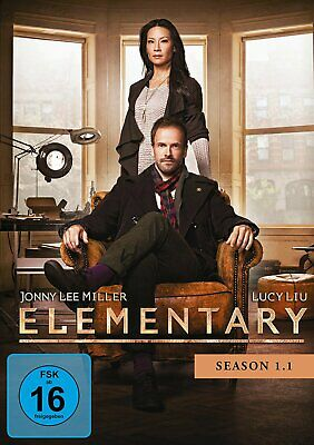 Elementary - Staffel/Season 1.1 # 3-DVD-BOX-NEU (Amaray)