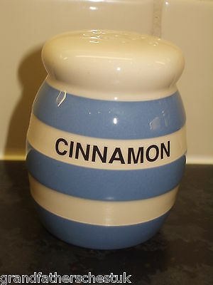 T G Green Cornish Blue Cornishware Cinnamon Shaker Made In England