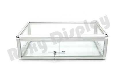 Glass Countertop Display Case Store Fixture Showcase #SC-KDFLAT
