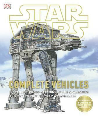 Star Wars: Complete Vehicles by Kerrie Dougherty Hardcover Book (English)