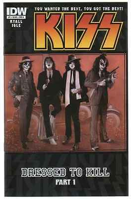 Kiss #1 Regular Cover Idw 2012 New Near Mint