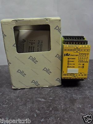 New Pilz PNOZ X8P 120VAC 3n/o 2n/c 2so Safety Relay 6.5 VA 50-60Hz NIB
