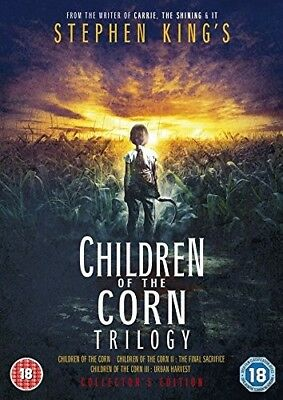 Children Of The Corn - Trilogy (1984, 1993, 1995)  Dvd Collectors Edition New Uk
