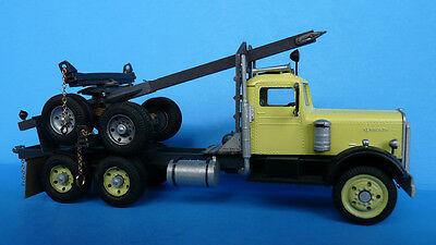 O/On3/On30 1/48 WISEMAN MODEL SERVICES EARLY VERSION LOG TRUCK CONVERSION KIT