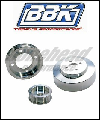 BBK Performance 3pc Aluminum Underdrive Pulley Kit 1994-1995 Ford Mustang GT