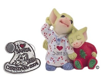 Listening For Santa 2004 Annual Pocket Dragons Item 013900 NIB