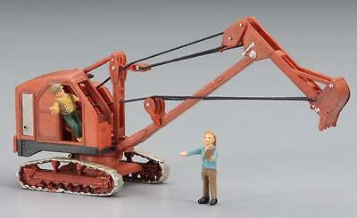 Woodland Scenics AS5566 Backhoe AutoScene HO Train Scenery