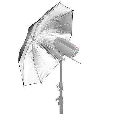 "Neewer 36""/91cm Photo Studio Black/Silver Reflective Lighting Umbrella"