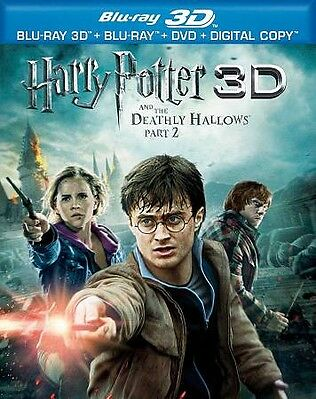 Harry Potter and the Deathly Hallows: Pa Blu-ray