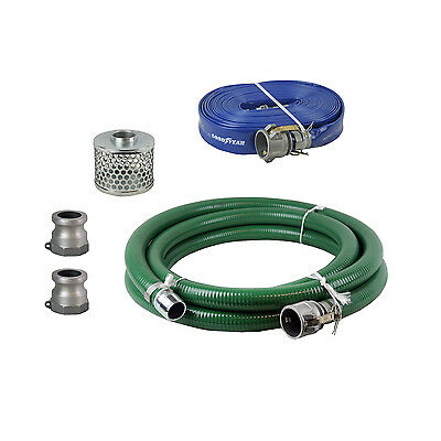 Honda 124030-1145-CLKT 3-inch Camlock Suction and Discharge Hose Kit
