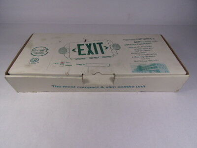Energy Star Exit & Emergency Sign ! NEW !