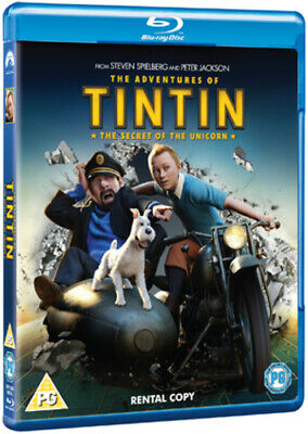 The Adventures of Tintin: The Secret of the Unicorn Blu-ray (2012) Steven