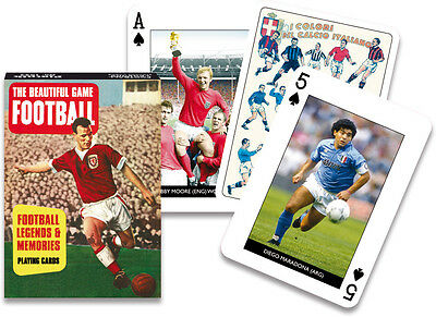 Football Legends set of 52 playing cards (gib)