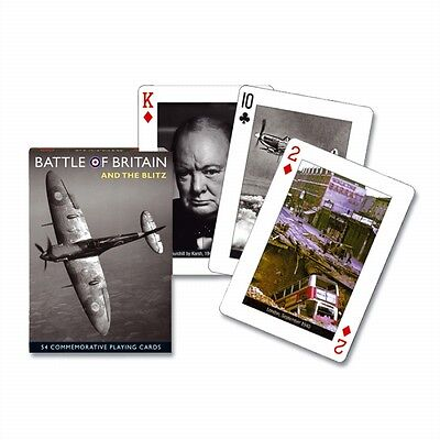 Battle Of Britain set of 52 playing cards (gib)