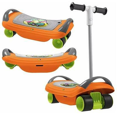 Boxed Chicco Fit N Fun 3-In-1 Boys Balanskate Skate Board Outdoor Toy *No Manual