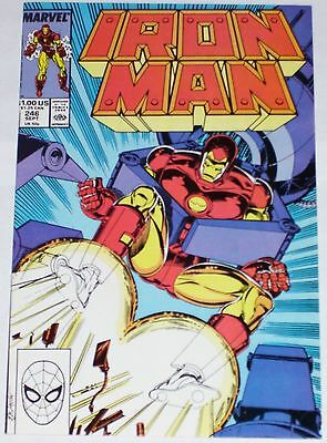 Iron Man #246 from Sep 1989 F+ to VF-