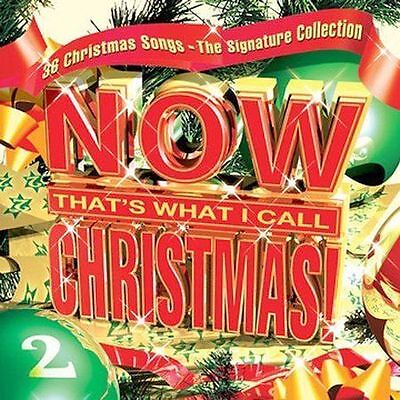 Various Artists : Now Thats What I Call Christmas! 2 CD