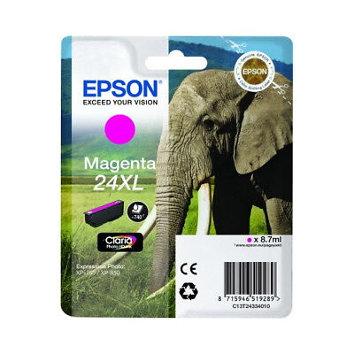 Original High Capacity Magenta Ink Cartridge for Epson Expression Photo XP-760