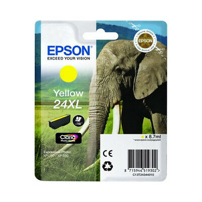 Original High Capacity Yellow Ink Cartridge for Epson Expression Photo XP-960