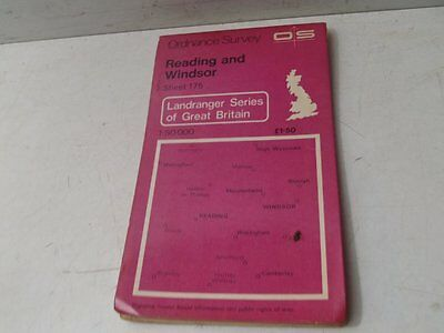 Ordnance Survey Reading & Windsor Sheet 175 Great Britain Map