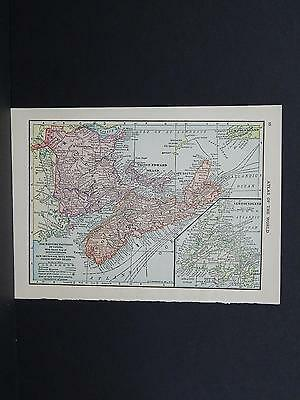 Small Maps, c. 1910, Double Sided, Canada S3#3 Maritime Provinces