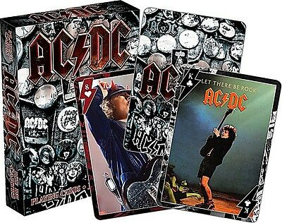 AC/DC set of 52 playing cards (version 2) (nm 52360)