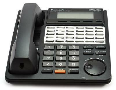 Lot of (10) Fully Refurbished Panasonic KX-T7453 Digital Telephone (Black)