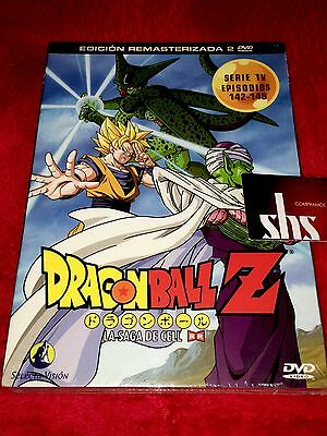 DRAGON BALL Z Vol 18 LA SAGA DE CELL ¡NUEVO! 142 al 149 SELECTA VISION 2 DVD
