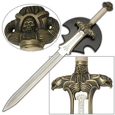 Conan The Barbarian Antiquated Sword With Wall Display Plaque SI139136-GB1