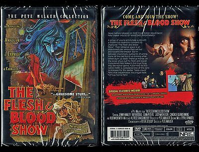 The Flesh and Blood Show (Brand New Unrated DVD, 2006) Rare, Out Of Print