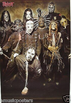 "SLIPKNOT ""FAMILY PORTRAIT"" POSTER FROM ASIA - Iowa Rocks! Heavy Metal Music"