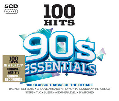Various Artists : 100 Hits: 90s Essentials CD (2013)