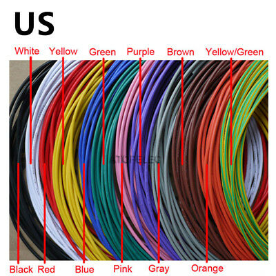 Flexible Stranded of 16AWG~28AWG Ul 1007 environmental Electronic wire conductor