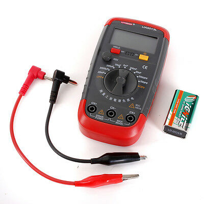 UA6013L Auto Range Digital Pro Capacitor Capacitance Tester Meter with box NEW