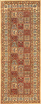 Oriental Persian Rug Real Hand-Knotted Runner 3831 (197 x 80)cm NEW