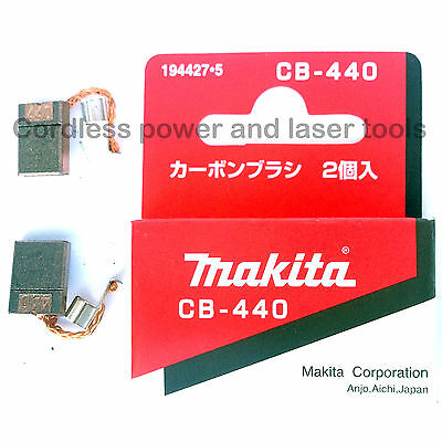 Makita BTP134 BTP140 BTD146 DTD146 BHP452 BHP456 CB440 Carbon Brushes 194427-5