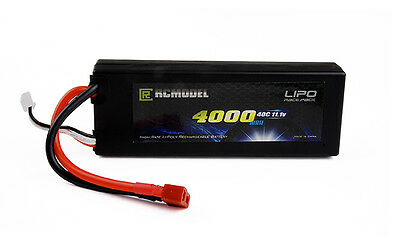 3s Hard Case  Lipo Battery 11.1V 4000mah 40C 80c For RC Car Boat