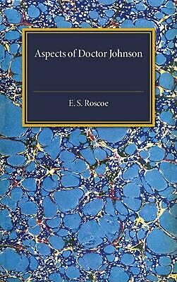 Aspects of Doctor Johnson by E.S. Roscoe (English) Paperback Book Free Shipping!