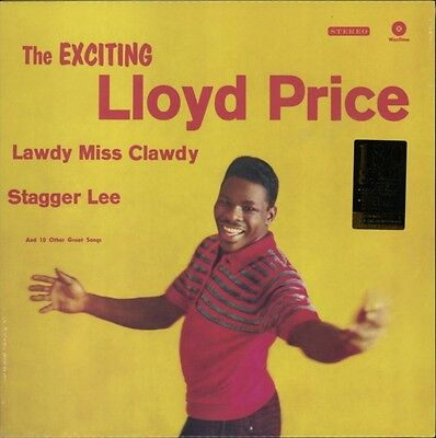 The Exciting Lloyd Price + 1 bonus track (180g) 12 inch, Lloyd Price, Vinyl, 84.