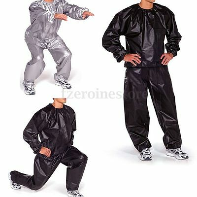 Heavy Duty Weight Loss Slimming Sport Sweat Exercise Gym Sauna Suit  Fitness