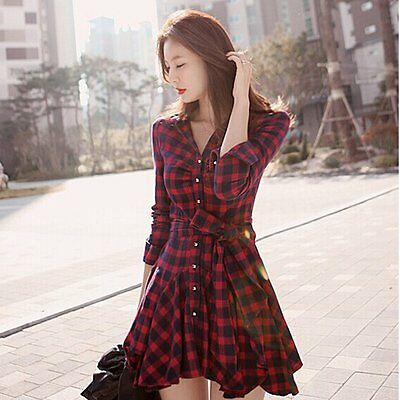 Women Sexy Summer Casual Long Sleeve Evening Party Cocktail Short Mini Dress