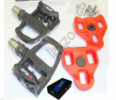 Exustar E-PR100PP Look Keo Road Bike Pedals Black Bicycle cycle racing pedal new