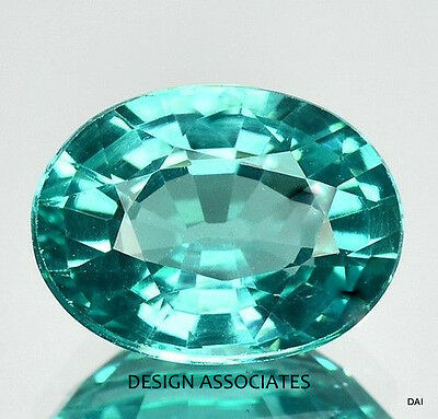 BLUE APATITE 7 x 5 MM OVAL $7.99 EACH GEMSTONE ELEGANT BEAUTIFUL